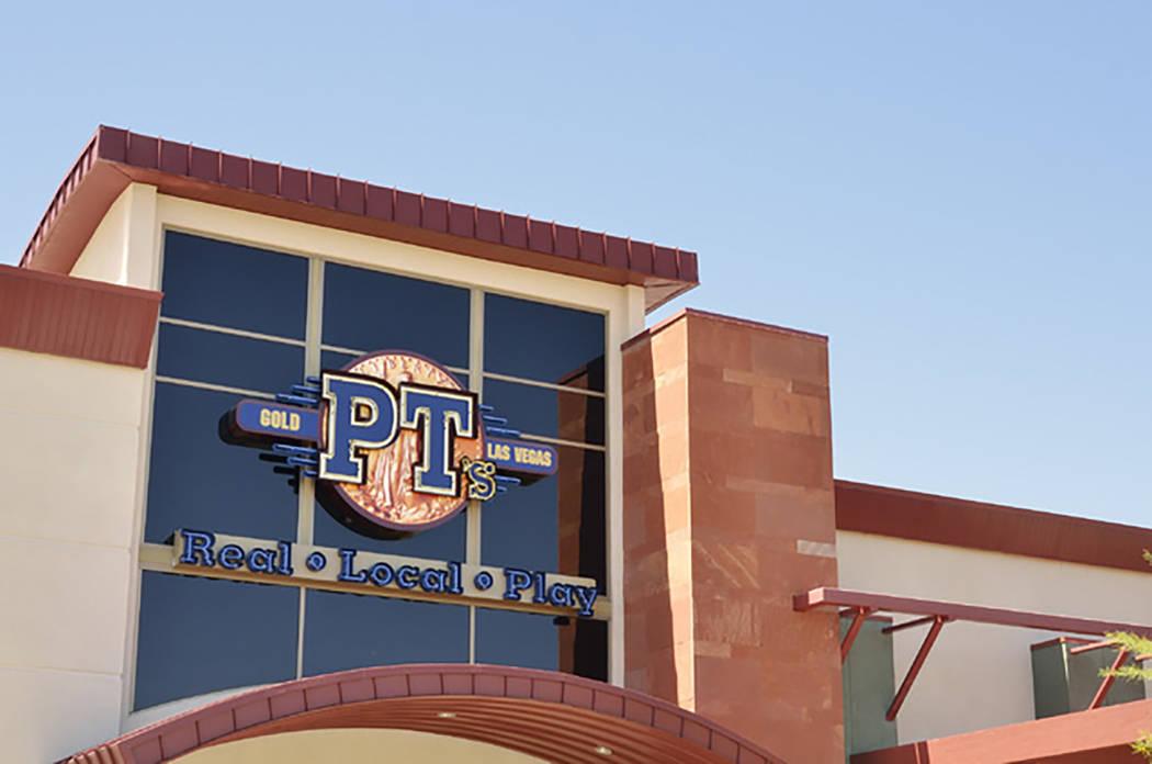 Golden Entertainment operates PT's and Sierra Gold taverns. (Bill Hughes/Las Vegas Review-Journal)