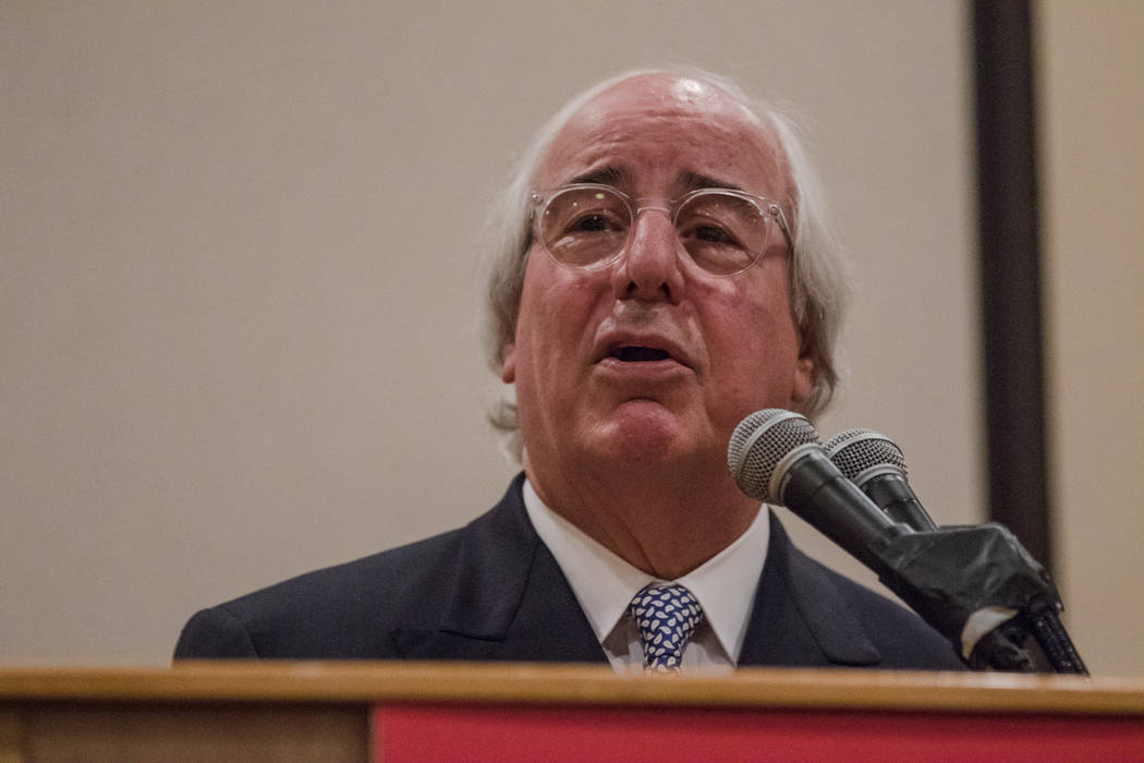 Frank Abagnale speaks to Nevada AARP on Thursday, Sep. 14, 2017, at Gold Coast hotel-casino in Las Vegas. Morgan Lieberman Las Vegas Review-Journal