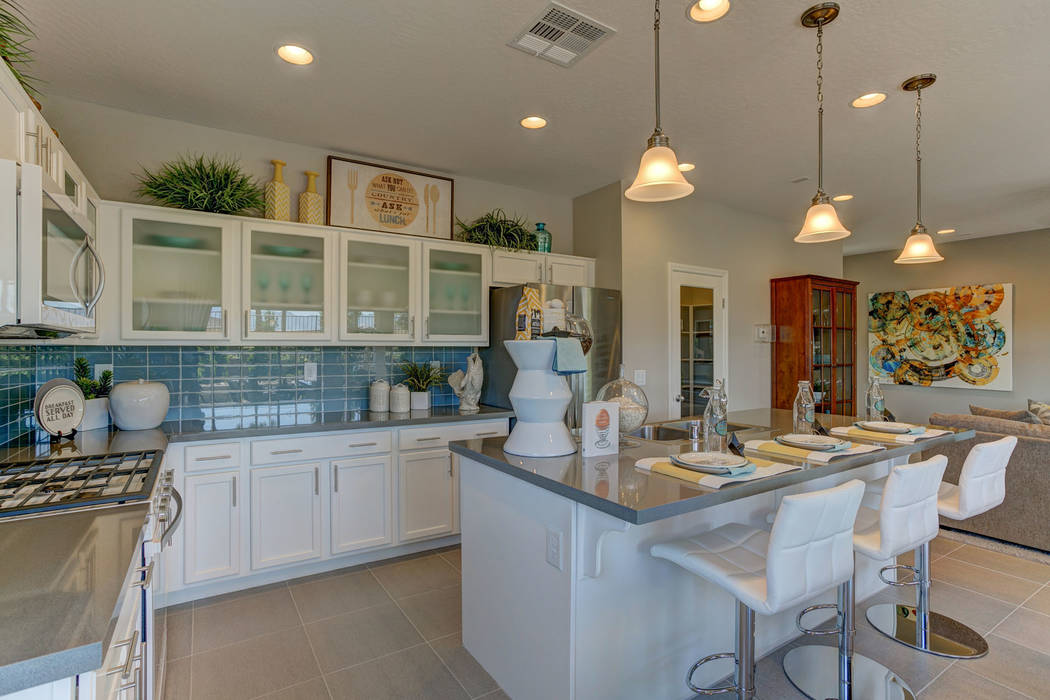 Century Communities' Residence 2288 model is among those that homeowners can purchase on contingency through the Nevada Builder Trade In Program. (Smith Team of Keller Williams)