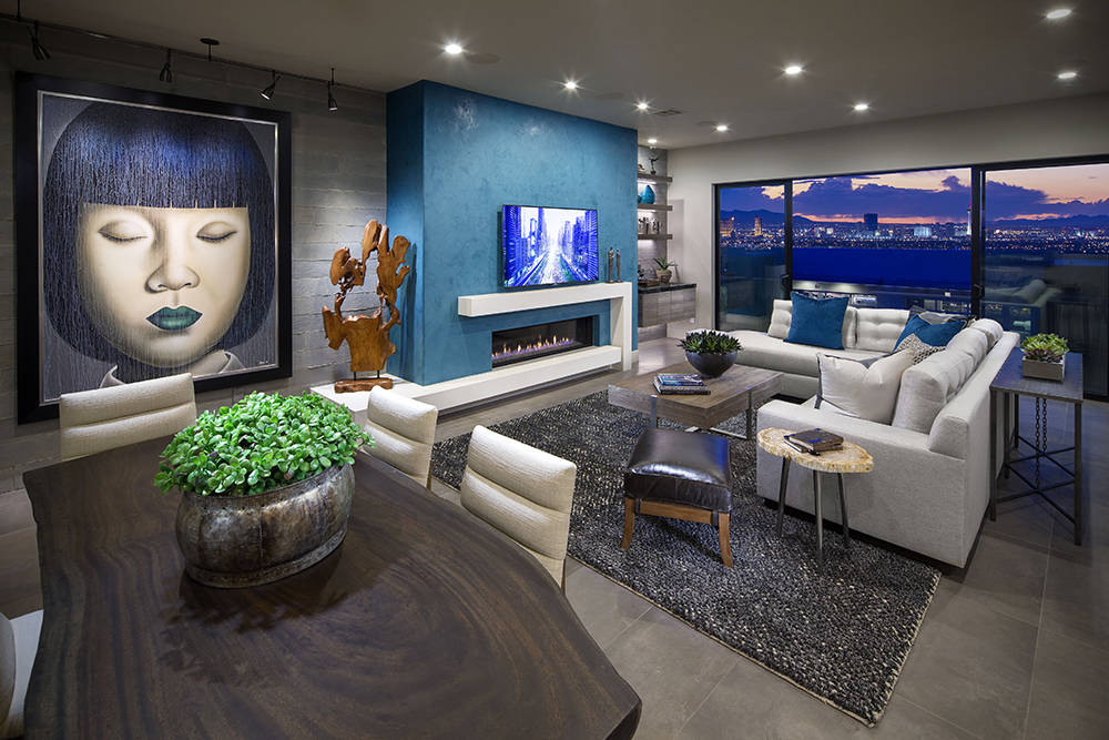Las Vegas-based Christopher Homes is building Vu, a luxury townhome project in MacDonald Highlands. (Christopher Homes)