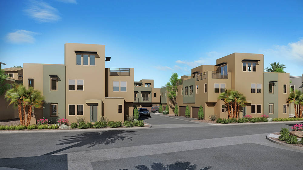 William Lyon Homes is building attached homes in Summerlin. (William Lyon Homes)
