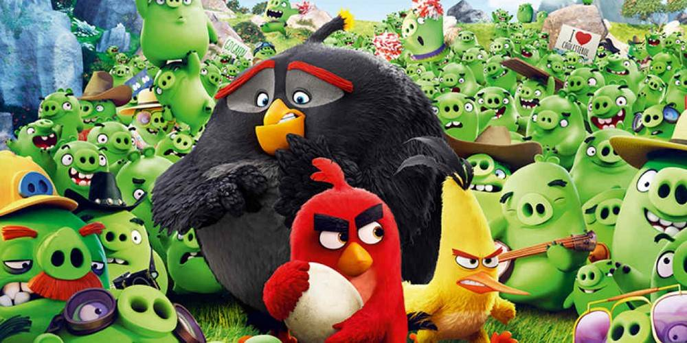 """The Angry Birds Movie,"" based on a popular app, made more than $300 million worldwide."