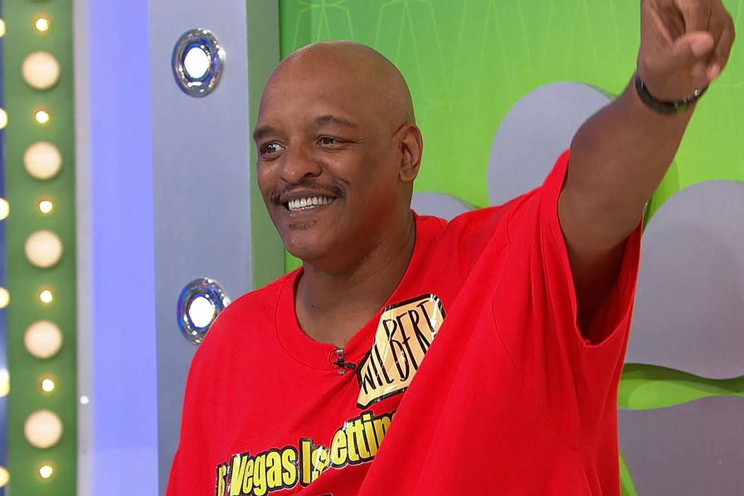 "Las Vegas resident Wilbert Powell became a contestant on ""The Price is Right"" last month. The episode featuring him will air on Friday. (The Lippin Group)"
