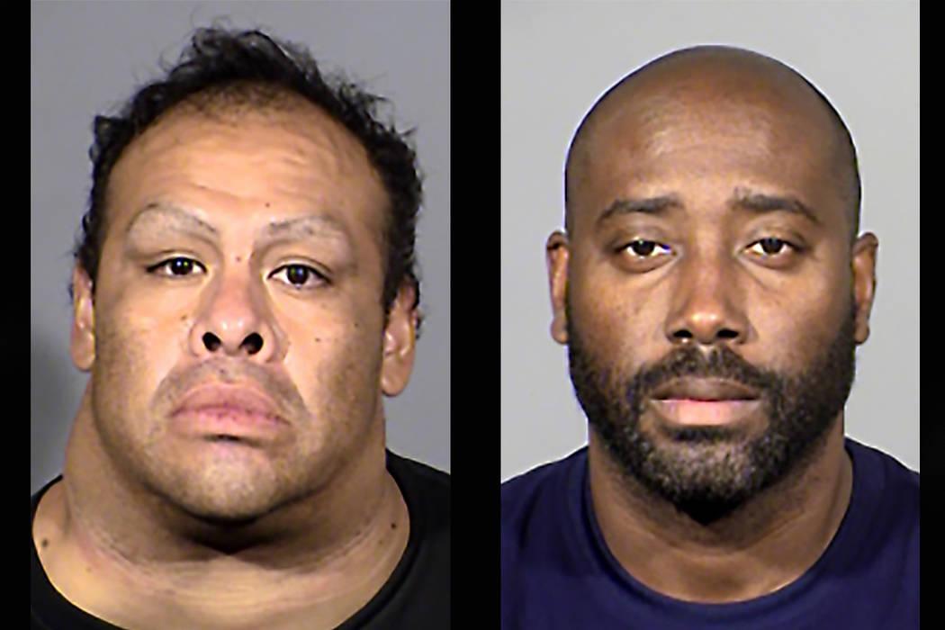 Julio Caesar Gonzalez and Edgar Betancourt-Preval (Las Vegas Metropolitan Police Department)