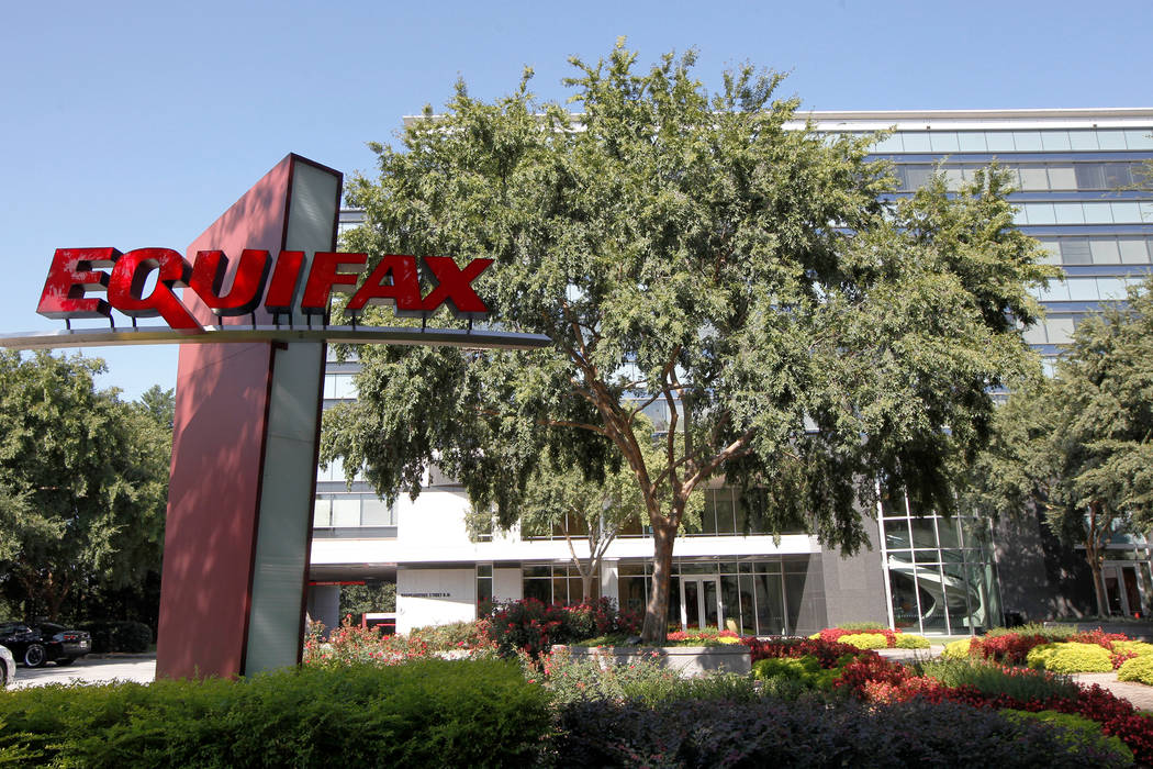 Credit reporting company Equifax Inc. corporate offices in Atlanta. (Tami Chappell/Reuters)