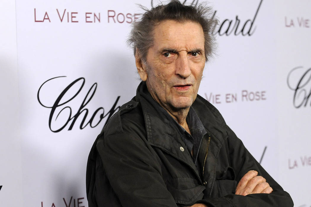 Actor Harry Dean Stanton arrives at a celebration for actress Marion Cotillard in West Hollywood, Calif., in 2008.  (AP Photo/Chris Pizzello, File)