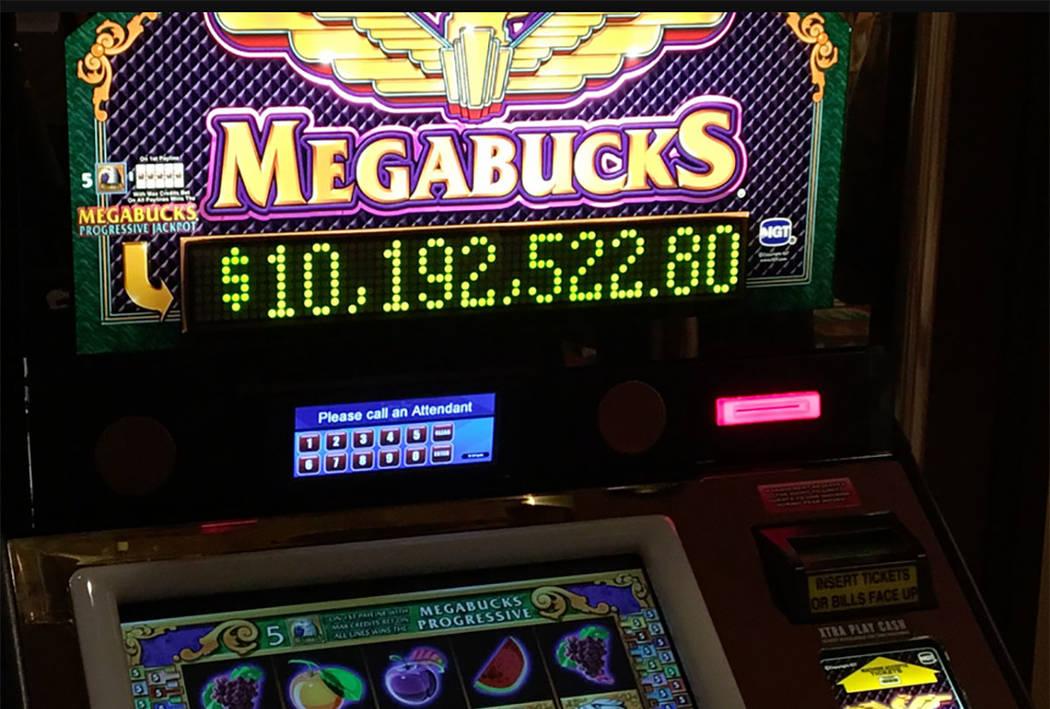 Megabucks (Michael Quine/Las Vegas Review-Journal)