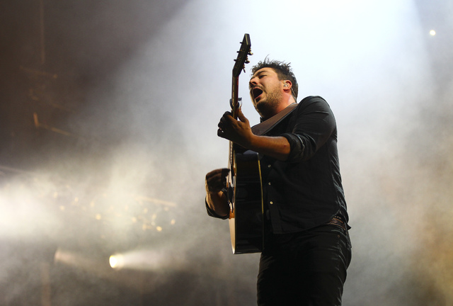 Mumford & Sons perform during the Life is Beautiful music and arts festival in downtown Las Vegas on Friday, Sept. 23, 2016. Chase Stevens/Las Vegas Review-Journal Follow @csstevensphoto