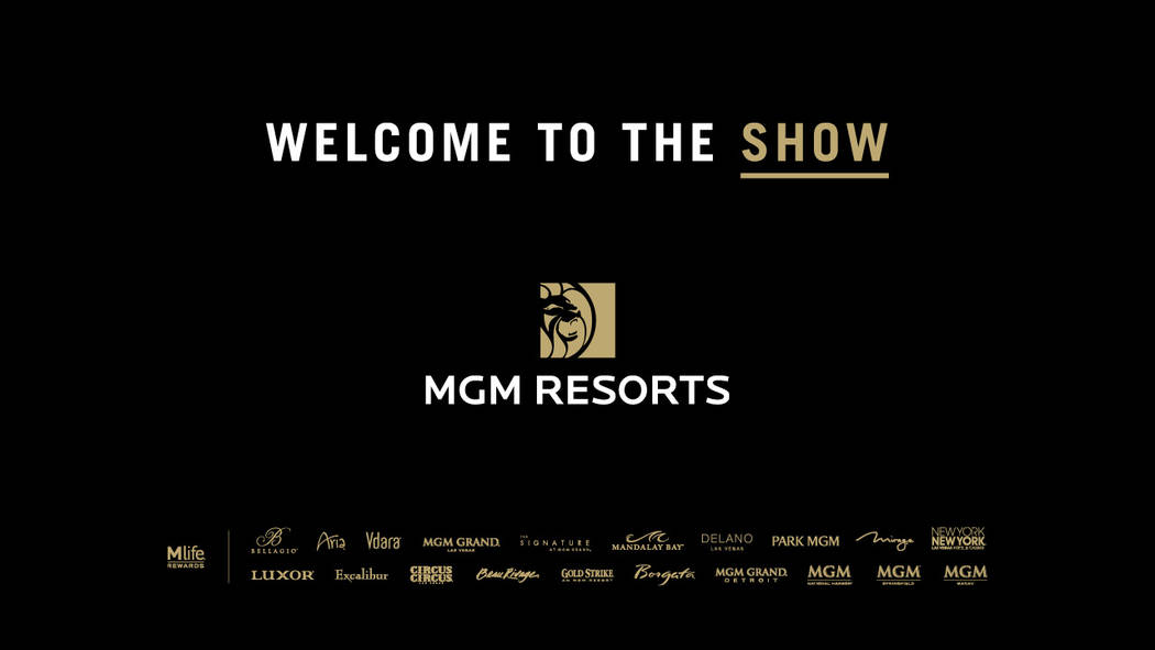 A look at the new message from MGM Resorts, which is reinforcing the fact that it owns 13 properties on the Strip. (MGM Resorts).