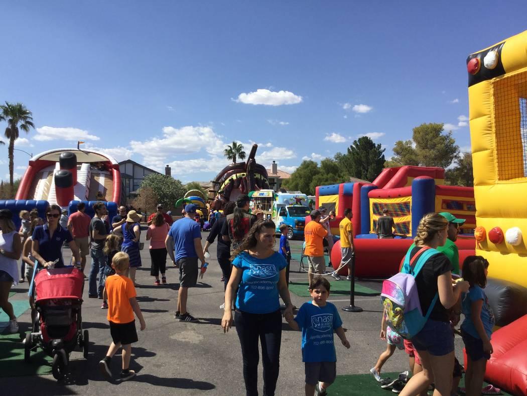 People attend the 45th annual Greek Food Fest in Las Vegas, Sunday, Sept. 17, 207. Sandy Lopez Las Vegas Review-Journal