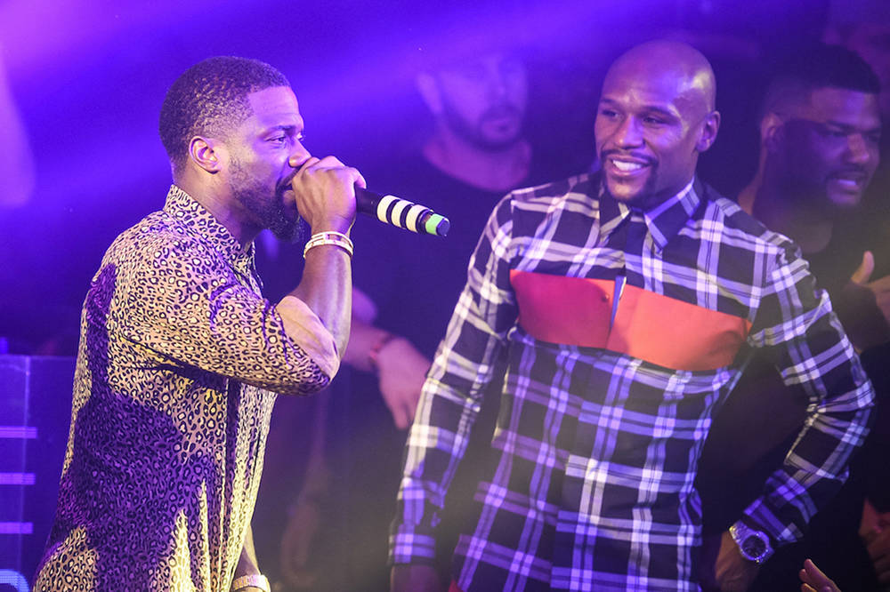 Superstar Usher kicked off the Kevin Hart three-day charity fundraiser at The Cosmopolitan Las Vegas with comedian Dave Chapelle closing out the shows. (Courtesy)