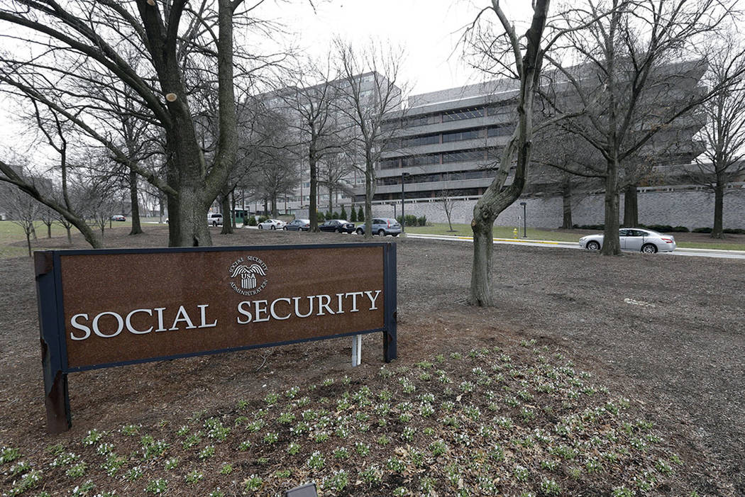 The Social Security Administration's main campus is seen in Woodlawn, Md., in 2013.  (AP Photo/Patrick Semansky, File)