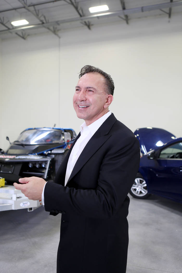 Paolo Tiramani, who is starting a high-performance vehicle assembly business, Supercar System, at the business in North Las Vegas, Wednesday, Sept. 20, 2017. Elizabeth Brumley Las Vegas Review-Journal
