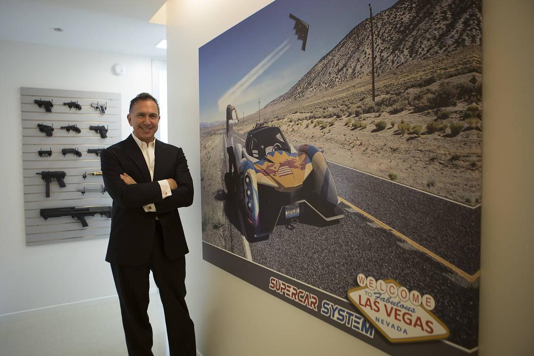 Businessman Paolo Tiramani at his home on Tuesday, Sept. 19, 2017, in Las Vegas.   Bridget Bennett Las Vegas Review-Journal @bridgetkbennett