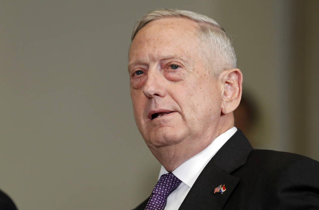 Defense Secretary Jim Mattis. (Alex Brandon/AP)