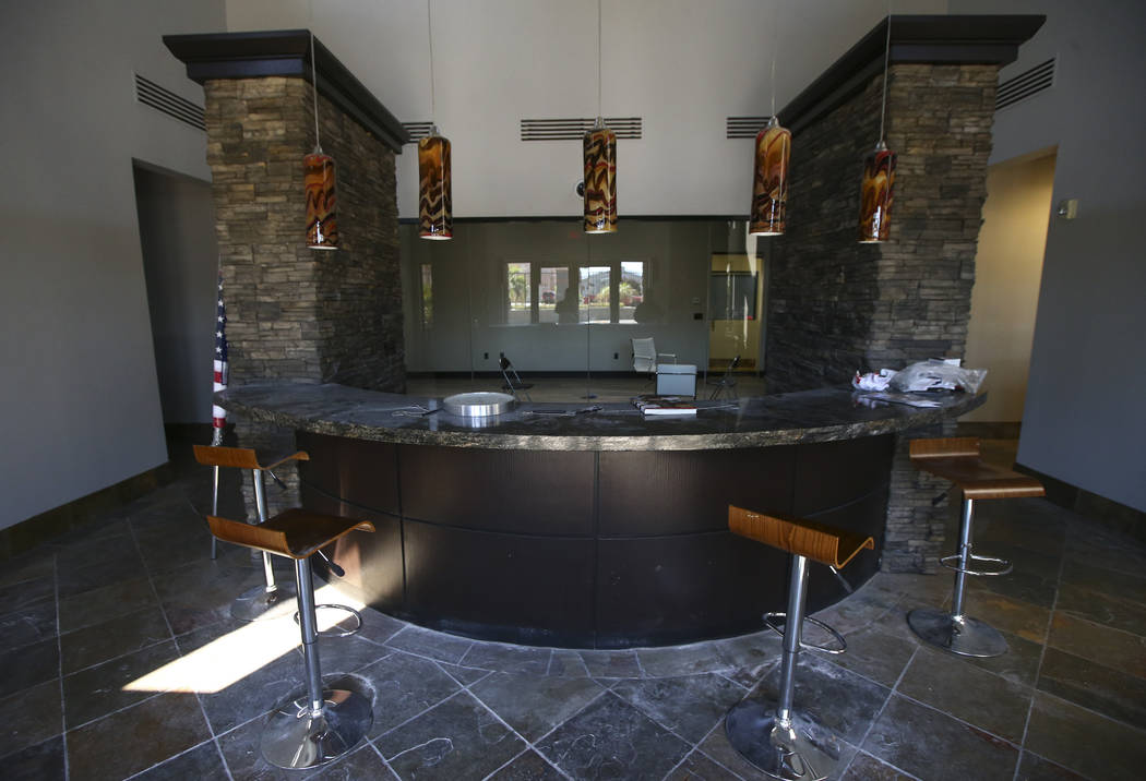 The lobby for the new location for Battle Arms Development at 451 E. Sunset Road in Henderson on Wednesday, Sept. 20, 2017. The company, which offers firearm parts and customization, is expanding  ...