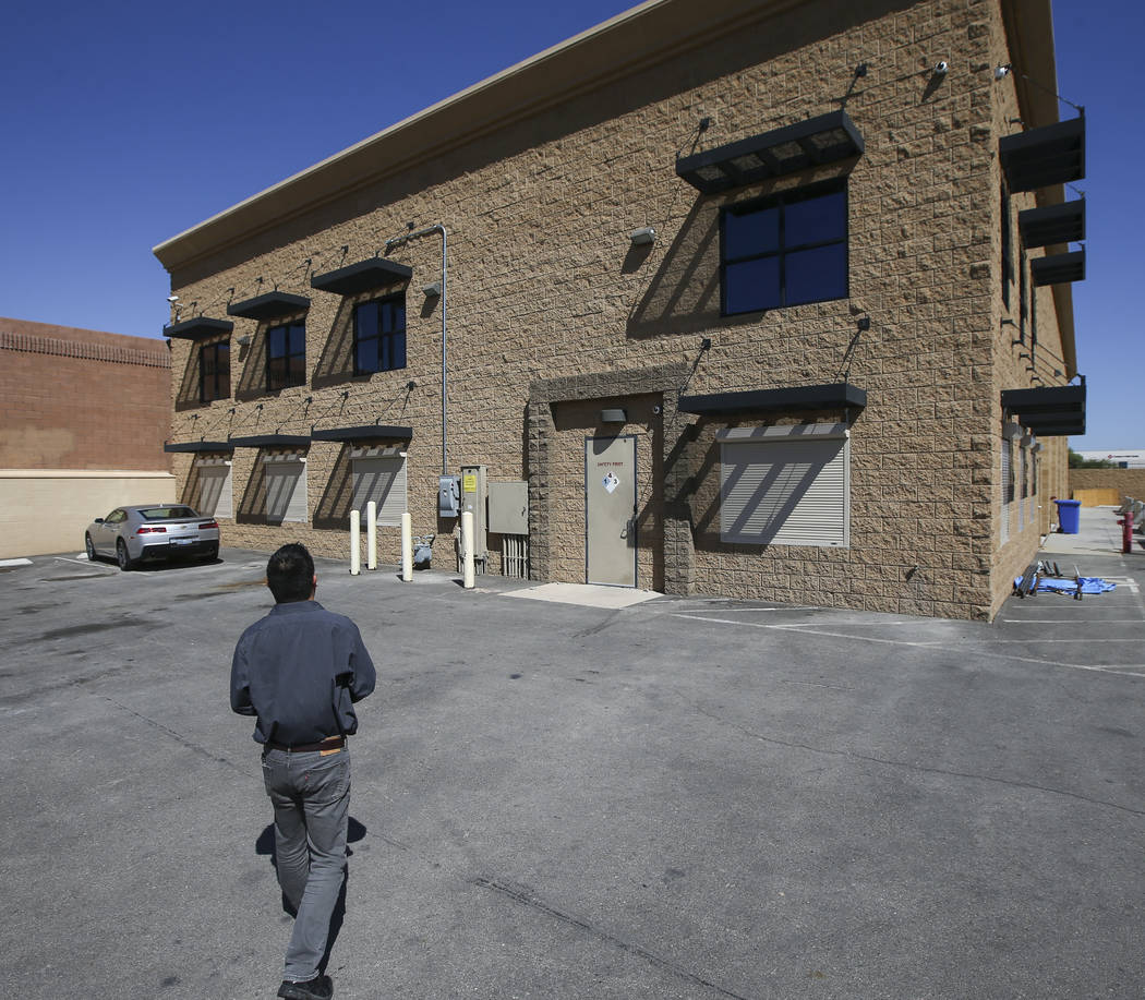 Battle Arms Development President George Huang at the new location for Battle Arms Development at 451 E. Sunset Road in Henderson on Wednesday, Sept. 20, 2017. The company, which offers firearm pa ...