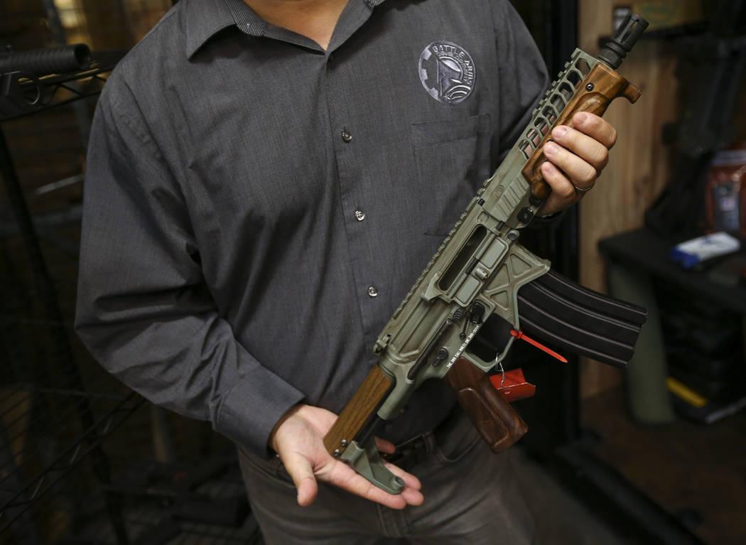 Henderson firearm designer aiming to expand | Las Vegas