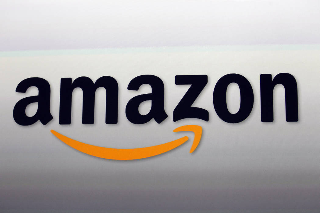 The Amazon logo in Santa Monica, Calif. on Sept. 6, 2012. Kohl's, which is opening some in-store Amazon shops, will start accepting returns for the online retailer at some of its stores in Los Ang ...