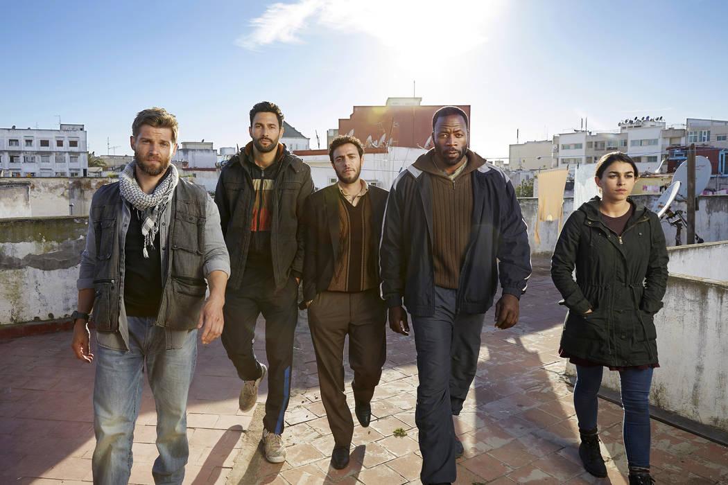 "Mike Vogel as Captain Adam Dalton, Noah Mills as Sergeant Joseph ""McG"" McGuire, Hadi Tabbal as Agent Amir Al-Raisani, Demetrius Grosse as CPO Ezekiel ""Preach"" Carter, Natacha Karam as Sergeant Jas ..."