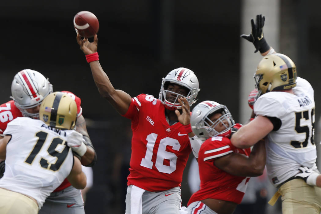 5 Ohio State Players To Watch Against Unlv On Saturday Las Vegas Review Journal