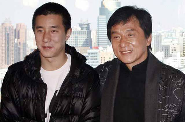Ko Chen-tung and Jackie Chan. Courtesy
