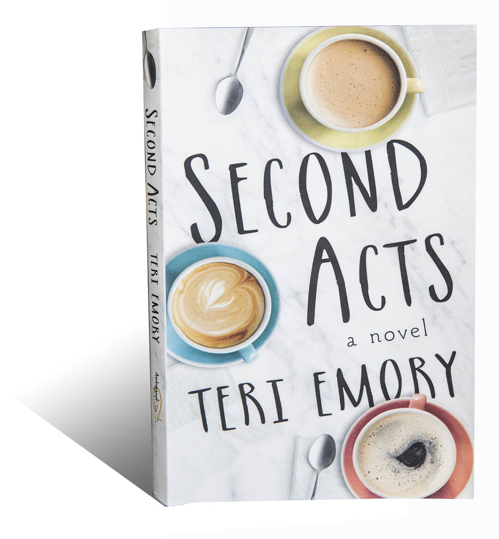 "Author Teri Emory just published her first novel titled ""Second Acts."" Photo taken on Tuesday, September 19, 2017, at Emory's home, in Las Vegas. Benjamin Hager Las Vegas Review- ..."