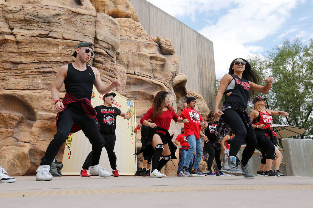 Members from Las Vegas U-Jammers perform during the Asian Heritage Celebration at the Springs Preserve in Las Vegas, Saturday, Sept. 23, 2017. Chitose Suzuki Las Vegas Review-Journal @chitosephoto