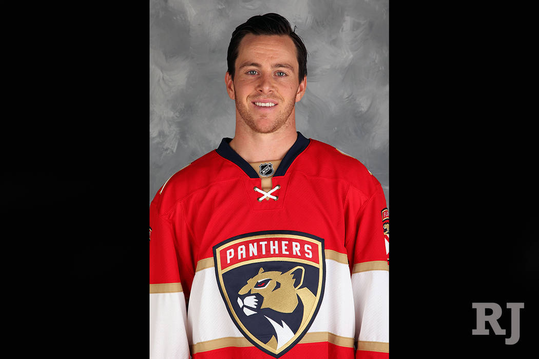 Jonathan Marchessault, No. 81 for the Florida Panthers (Eliot J. Schechter/NHLI via Getty Images)
