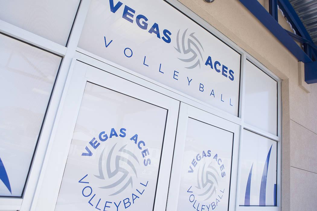 The new Vegas Aces Training Center on Friday, Sept. 22, 2017, in Henderson.  Bridget Bennett Las Vegas Review-Journal @bridgetkbennett