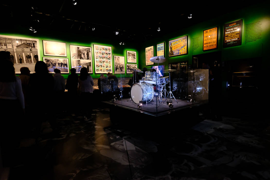 """The Rolling Stones """"Exhibitionism"""" display opens Sept. 23 at the Palazzo. (Courtesy)"""
