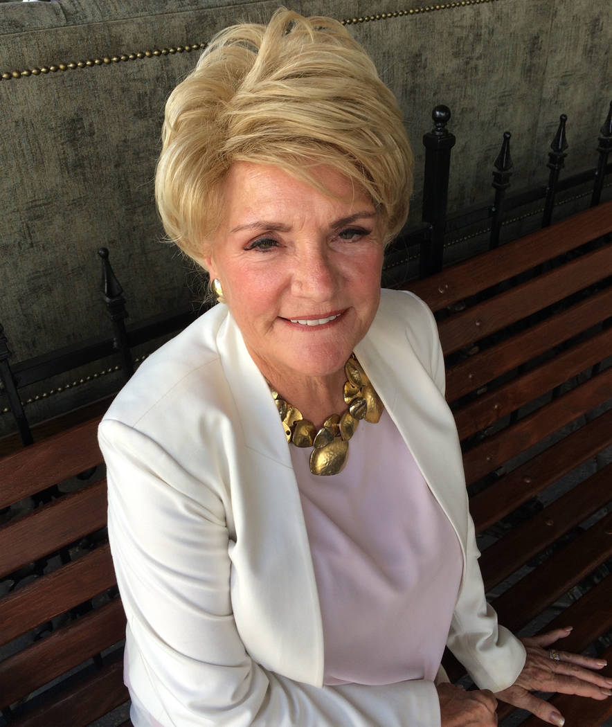 Former first lady Sandy Miller, a strong advocate of public education, in Henderson, Tuesday, Sept. 19, 2017.  Miller is proud of Rancho High school. Jane Ann Morrison Las Vegas Review-Journal.