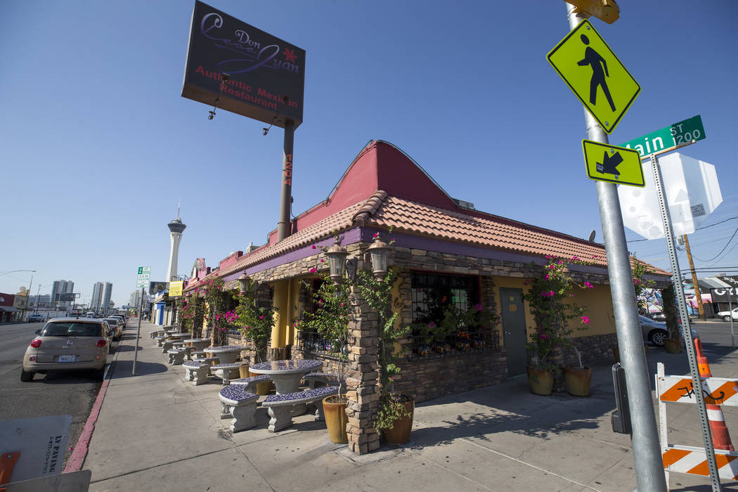 Mexican Restaurant Casa Don Juan At 1204 S Main St In Downtown Las