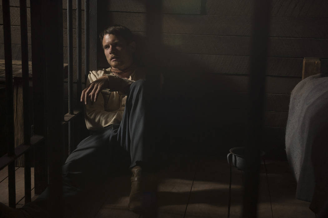 """Jack O'Connell stars in the Netflix limited series """"Godless,"""" due out Nov. 22. (Ursula Coyote/Netflix)"""