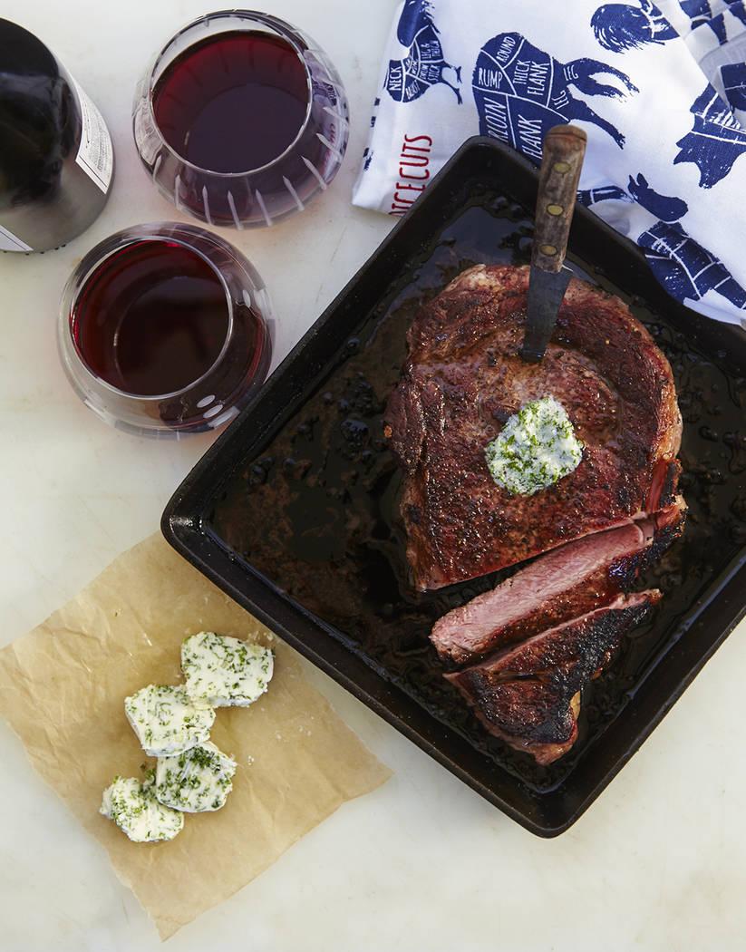 Steak Your Claim Frankie Frankeny