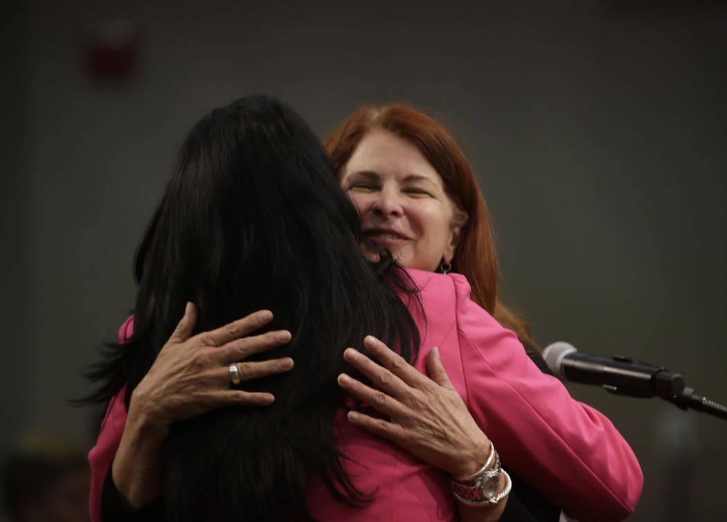Mayor of Henderson Debra March. Gabriella Angotti-Jones Las Vegas Review-Journal @gabriellaangojo
