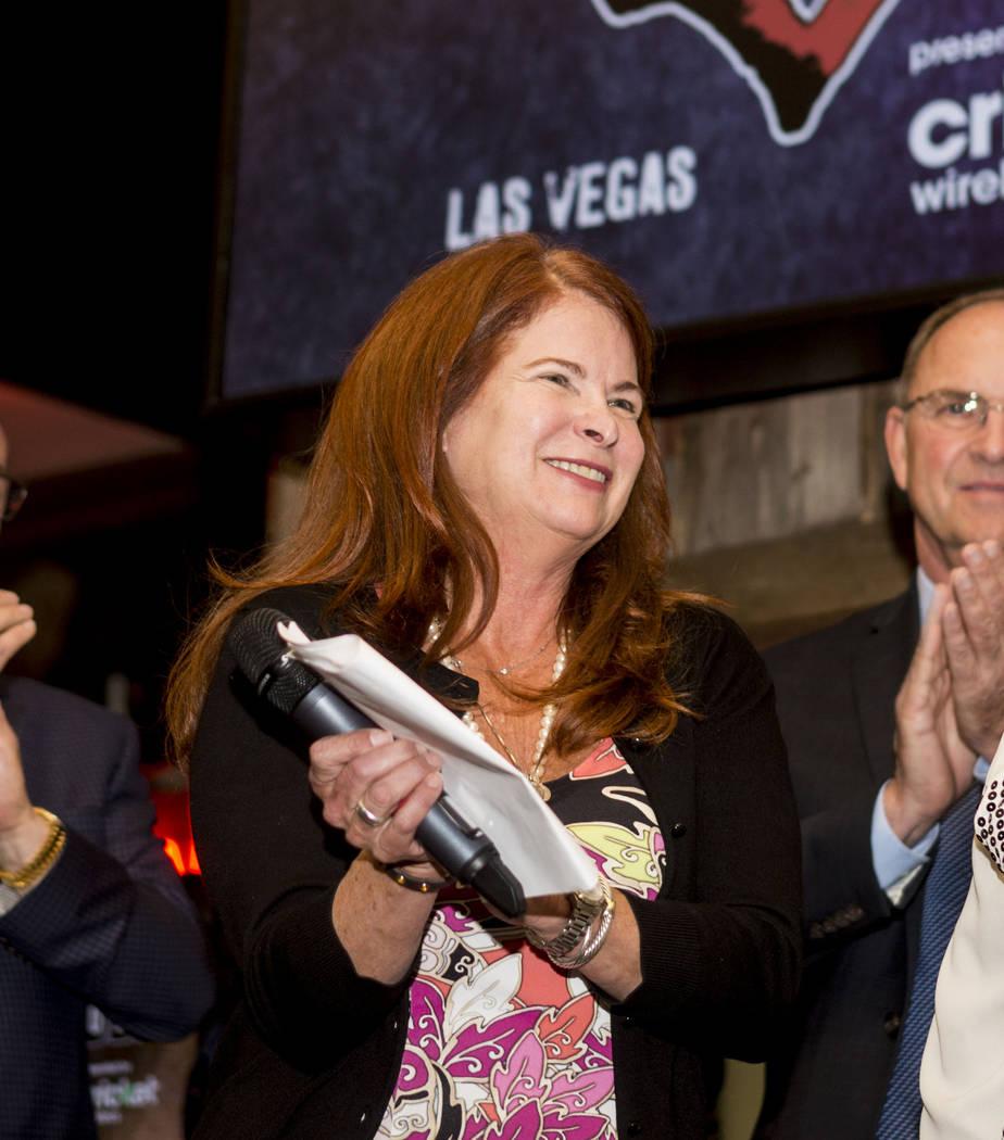 Mayor of Henderson Debra March. Elizabeth Brumley Las Vegas Review-Journal