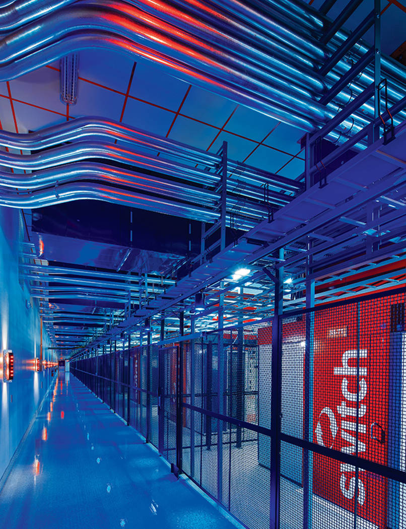 In documents with the Securities and Exchange Commission Sept. 8, 2017, Las Vegas-based data-center company Switch Ltd. provides an image of its data center. (Switch)