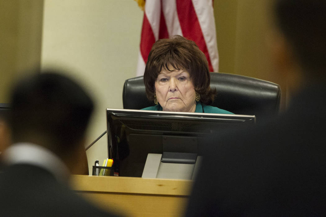 Councilwoman Lois Tarkanian during a council meeting at Las Vegas City Hall in Las Vegas. Erik Verduzco Las Vegas Review-Journal @Erik_Verduzco