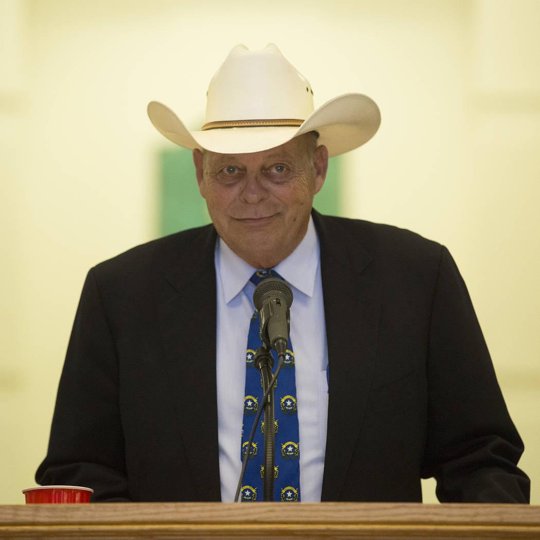 New assembly GOP leader Jim Wheeler speaks at Grant Sawyer State Office Building on Thursday, Sept. 21, 2017, in Las Vegas.  Bridget Bennett Las Vegas Review-Journal @bridgetkbennett