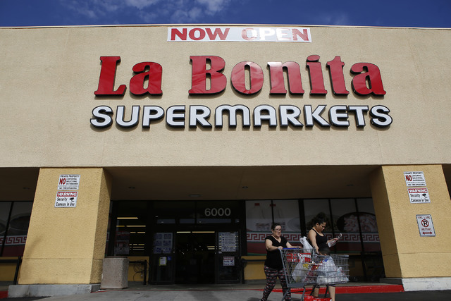 La Bonita Supermarket located at 6000 W. Cheyenne Ave. on Wednesday, Feb. 8, 2017, in Las Vegas. (Christian K. Lee/Las Vegas Review-Journal) @chrisklee_jpeg