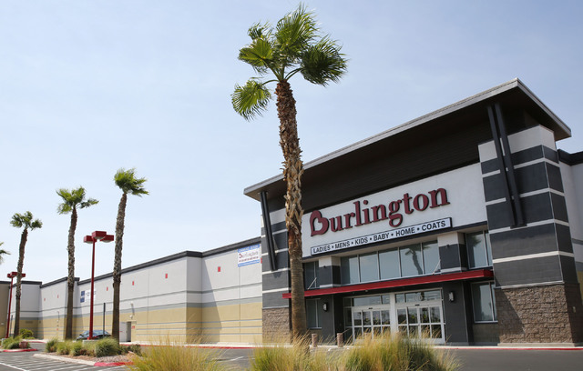 A Las Vegas Valley Burlington location is pictured in this file photo. (Chitose Suzuki/Las Vegas Review-Journal)
