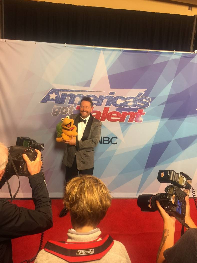 """Terry Fator performed a duet with Darci Farmer when they both sang """"Anything You Can Do (I Can Do Better)"""" with help from Terry's puppet, Winston, the impersonating Turtle and Darci's doll,  ..."""