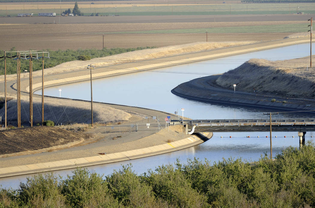 Canals carry water to southern California in 2009. (AP Photo/Russel A. Daniels, File)
