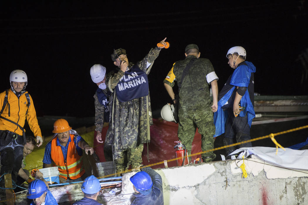 Death Toll From Mexico's 7.1 Magnitude Earthquake Keeps Rising