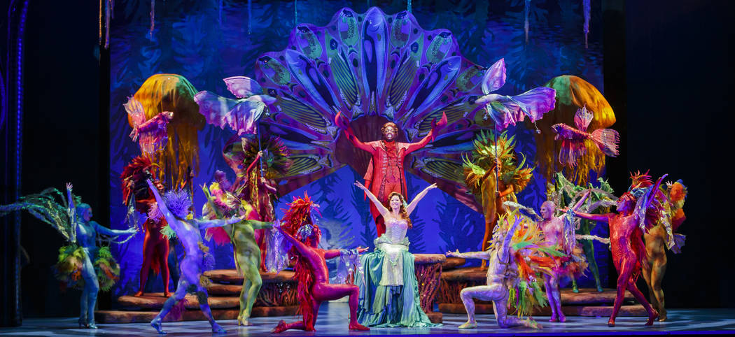 """The Little Mermaid,"" playing The Smith Center Oct. 3-8 (Mark Tracy Photography/The Smith Center for the Performing Arts)"