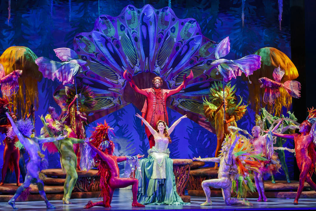 """The Little Mermaid,"" playing The Smith Center Oct. 3-8 Mark Tracy Photography The Smith Center for the Performing Arts"