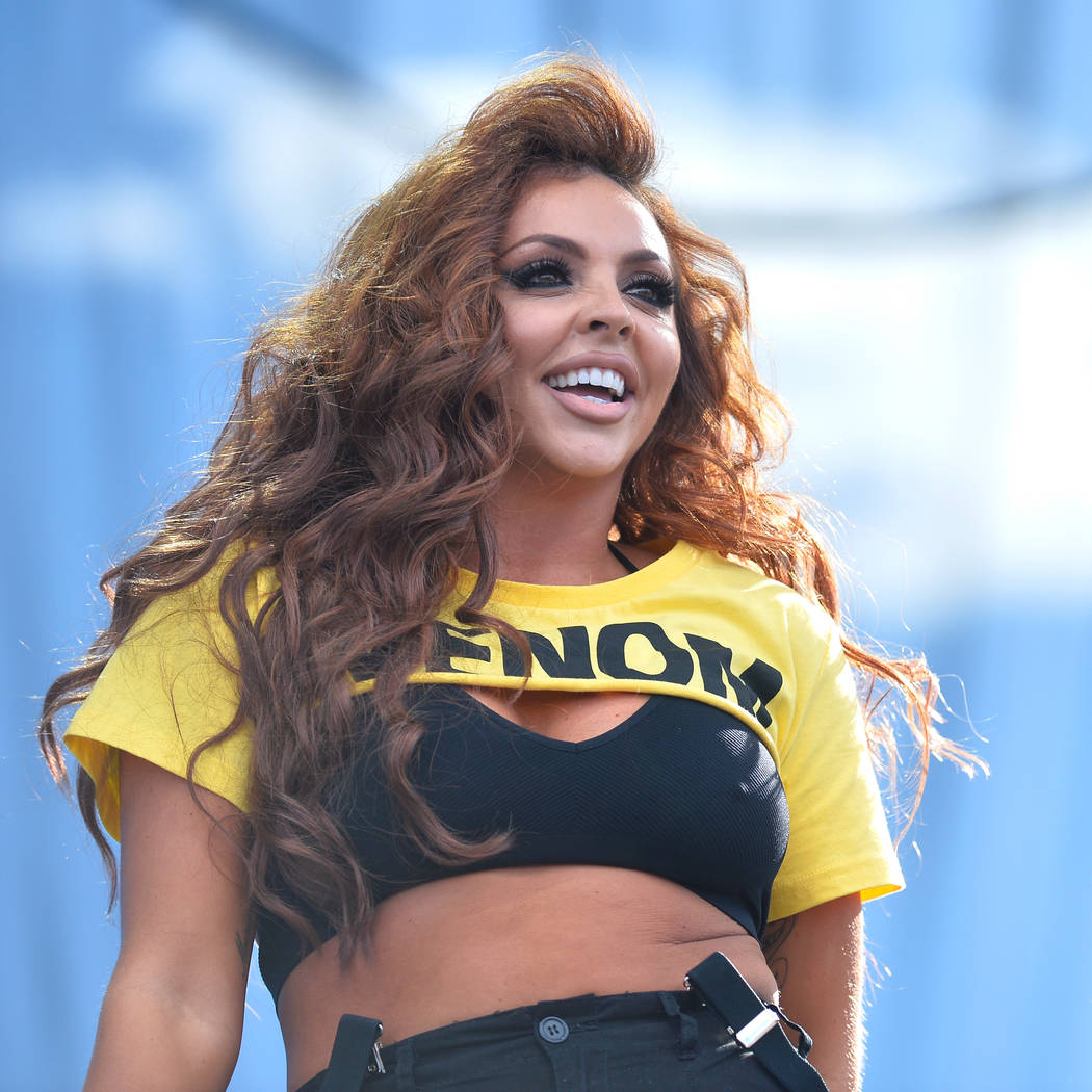 LAS VEGAS, NV - SEPTEMBER 23:  Jesy Nelson of Little Mix performs onstage during the Daytime Village Presented by Capital One at the 2017 HeartRadio Music Festival at the Las Vegas Village on Sept ...