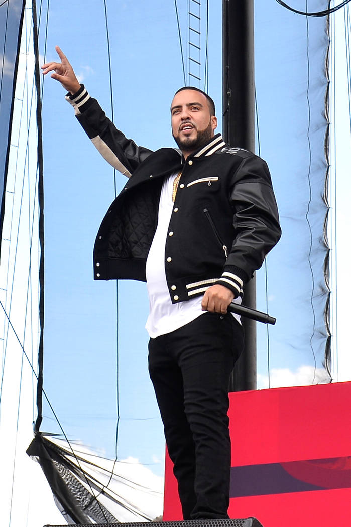 French Montana performs onstage during the Daytime Village Presented by Capital One at the 2017 HeartRadio Music Festival at the Las Vegas Village on September 23. (Photo by Bryan Steffy/Getty Ima ...