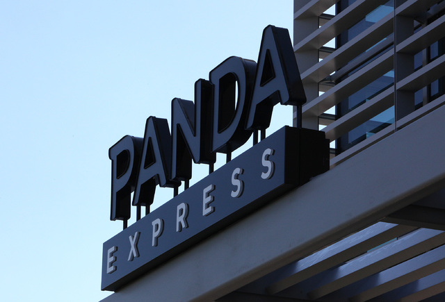 Andrew and Peggy Cherng, the co-CEOs of Panda Restaurant Group, recently bought an office complex in Summerlin. Panda Express, seen here in the marketplace section of Downtown Summerlin in Las Veg ...